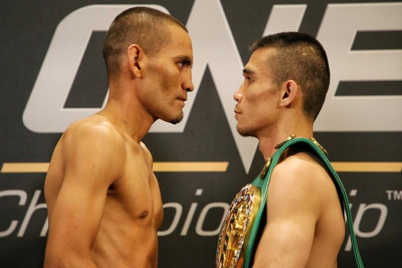 Iran Diaz (L) and Srisaket Sor Rungvisai (R) (ONE Championship photo)
