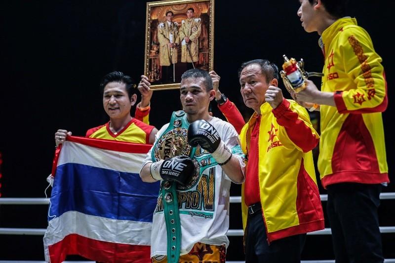 Srisaket Sor Rungvisai vs Iran Diaz (ONE Championship photo)
