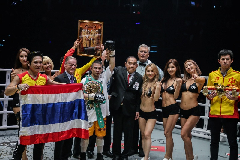 Srisaket Sor Rungvisai vs Iran Diaz (ONE Championship photo)