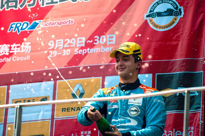Daniel Miranda scores back-to-back podium finish in Sepang to cap off a stellar rookie season in Asia Formula Renault