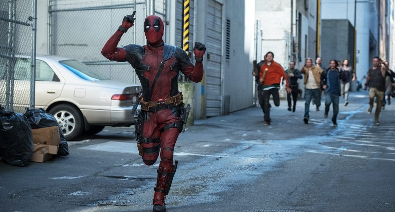 """A scene fromn """"ONCE UPON A DEADPOOL"""""""