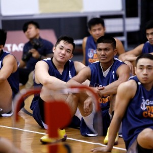 2018 PBA Rookie Draft Apirants during the Draft Combine at the Gatorade Hoops Center in Mandaluyong. (PBA Images)