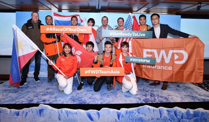 FWD Team Asia, Tim Oliver, Richard Donovan, Paul Tse