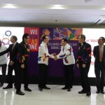 Philippine South East Asian Games Organizing Committee (PHISGOC) Chair Alan Peter Cayetano welcomed Ajinomoto to the SEA games Family of Sponsors as the first consumer food brand in the Platinum category. He thanked all its officials for their enthusiasm in supporting the 30th SEA games and Para games to be held starting this November 30, 2019.