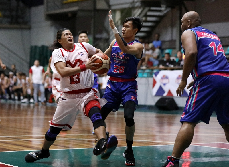 James Martinez vs Jose Gabo (PBA Images)