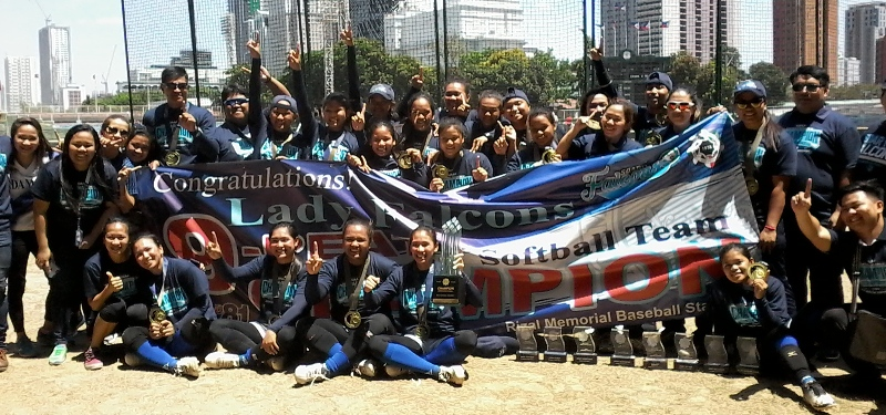 UAAP: Lady Falcons Stretch Softball Supremacy With 9th Title
