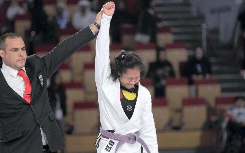 Annie Ramirez (photo from Abu Dhabi World Pro Jiu jitsu website)