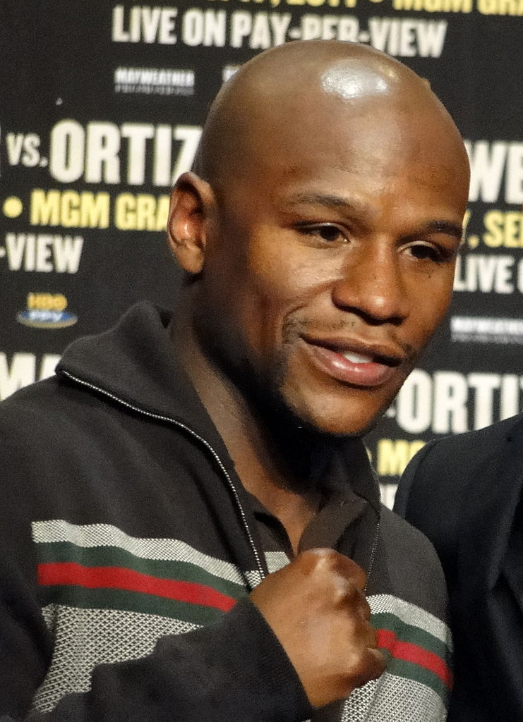 Floyd Mayweather Jr. (photo by Chamber of Fear | Wikimedia Commons)