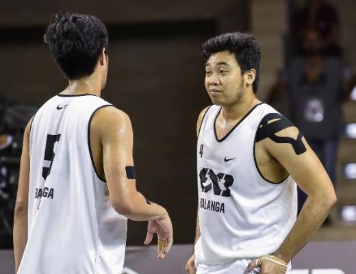 Santi Santillan and Alvin Pasaol
