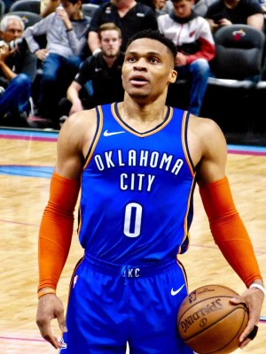 Russell Westbrook (Cipriana Canovi | Wikimedia Commons)