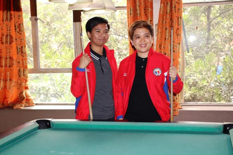 SEA Games bound Rubilen Amit (right) and newcomer Floriza Andal