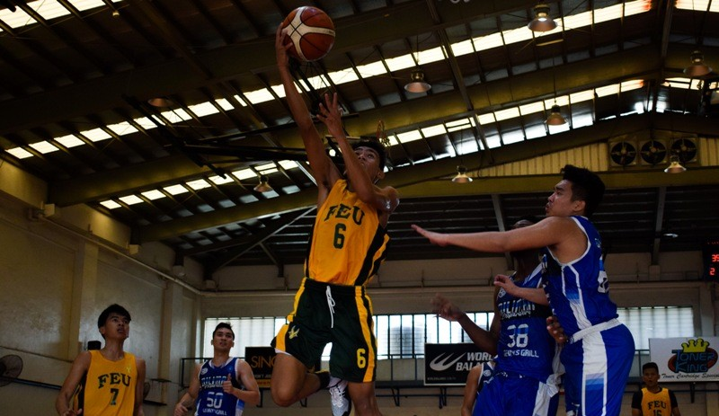 FEU Baby Tamaraws vs. Diliman Preparatory School Baby Blue Dragons (Fr. Martin's Cup photo)