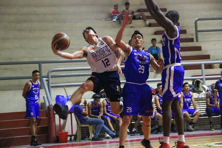 NU vs. Diliman College (Fr. Martin's Cup photo)