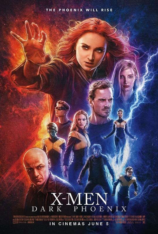 X-Men: Dark Phoenix poster.