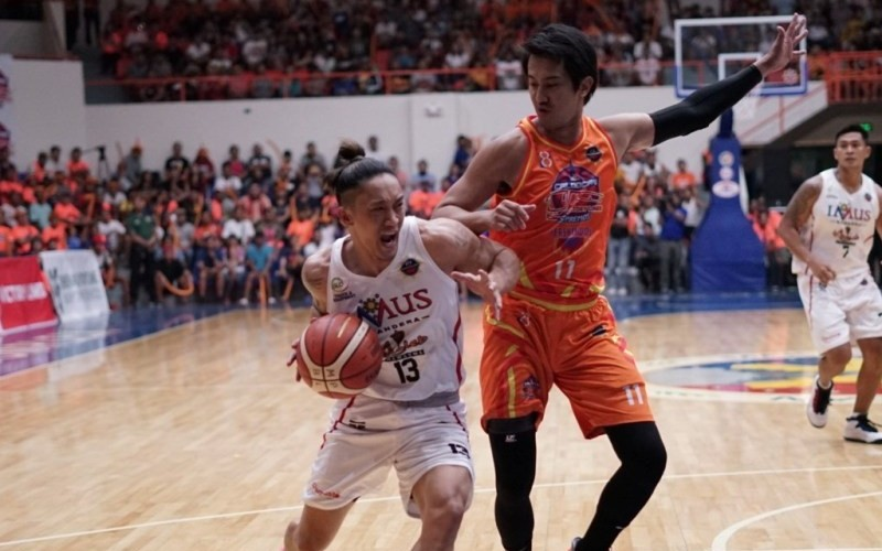 Jayjay Helterbrand of Imus Bandera (MPBL Photo)
