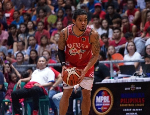 Paolo Hubale of the Valenzuela Classic (MPBL photo)