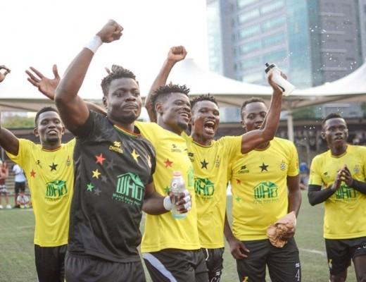 Ghana FC won the 3rd season of the Philam Life 7s Football League Manila
