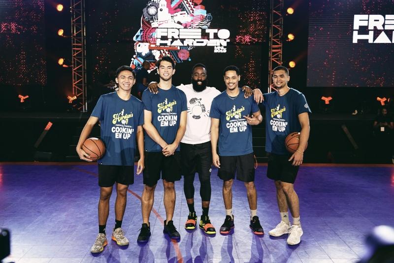 NBA: Harden returns to Manila for Adidas Free To Harden Freestyle Hub