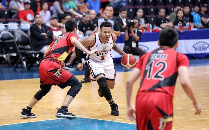 Ray Parks Jr. of the Blackwater Elite (PBA Images)