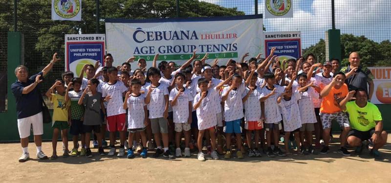 Cebuana Lhuillier Age Group Tennis concludes last leg of summer tour
