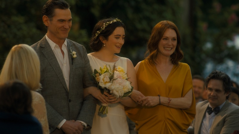 """Billy Crudup, Abby Quinn and Julianne Moore in """"AFTER THE WEDDING"""""""