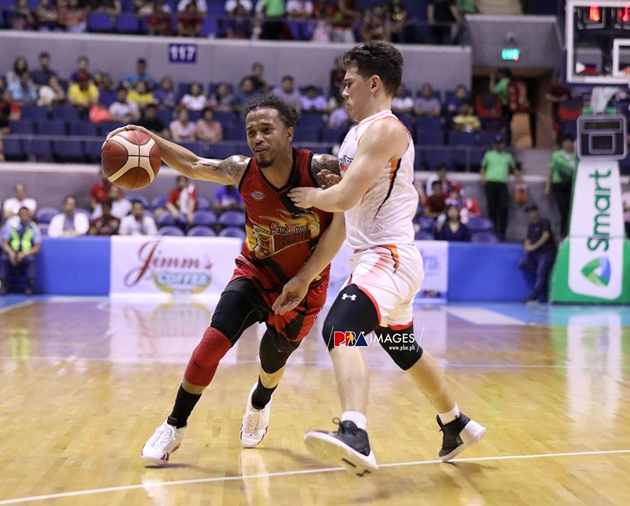 Chris Ross on San Miguel's upset of Northport: 'We have Arwind Santos'