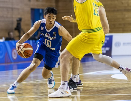 Dave Ildefonso of Gilas Pilipinas Youth (FIBA.com photo)