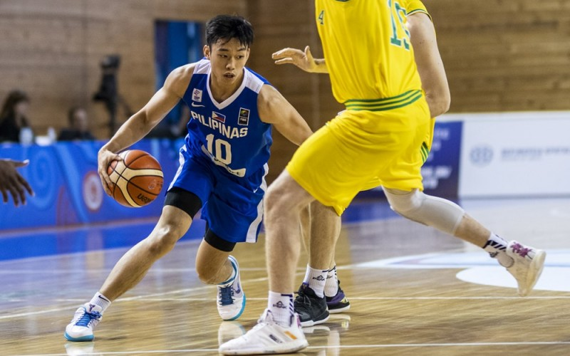 Dave Ildefonso of Gilas Pilipinas Youth (FIBA.com photo)
