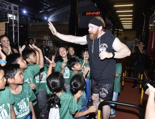 WWE superstar Sheamus