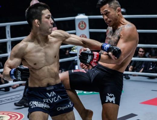 Martin Nguyen VS Koyomi Matsushima (ONE Championship photo)