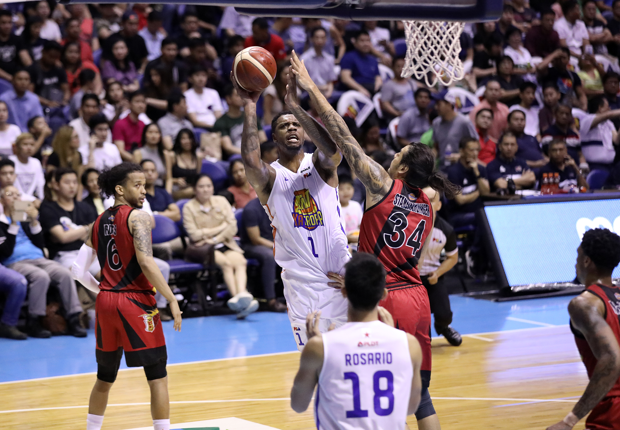 WATCH: Kelly Nabong says Terrence Jones 'flops all the time'