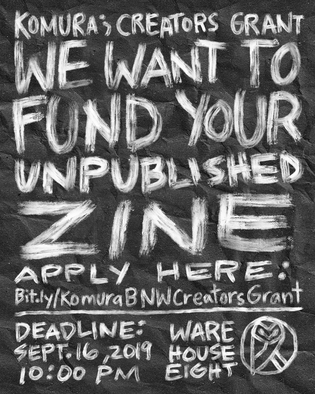 Komura wants to fund your unpublished zine