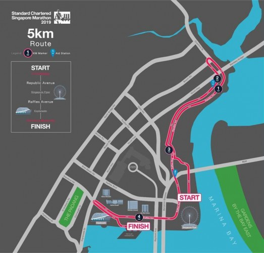 (SCSM 2019 Route Map for 5km)