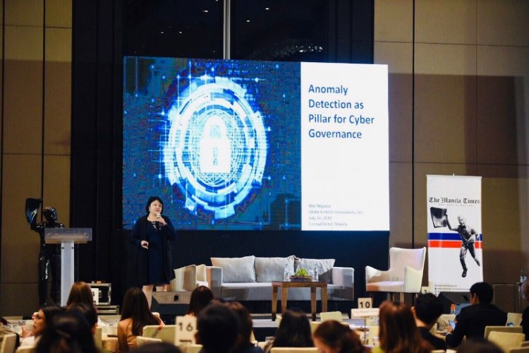 Mel Migrino, GCash's Chief Security and Privacy Officer.