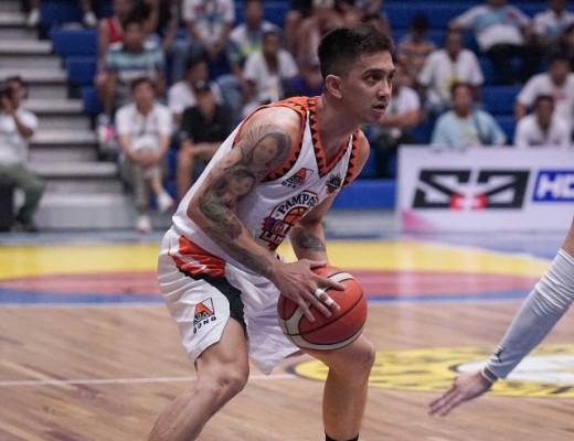 Michael Juico of the Pampanga Lanterns (MPBL photo)