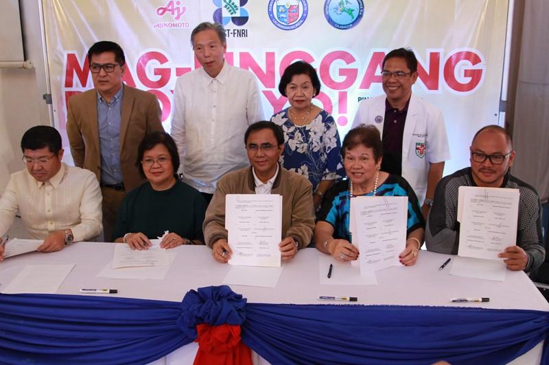 Cainta embraces Mag-PinggangPinoy Tayo! Program