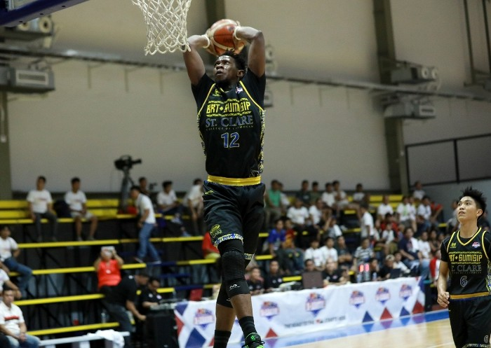 Mohammad Pare of BRT Sumisip - St. Clare (PBA Images)
