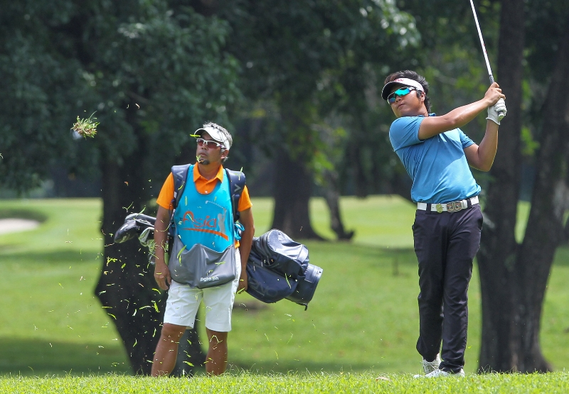 Golf: No walk in the park for Ira Alido despite a 2-shot lead