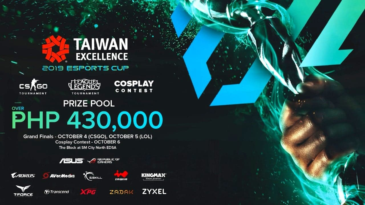 All the best gaming gears and devices at the 2019 Taiwan Excellence eSports Cup