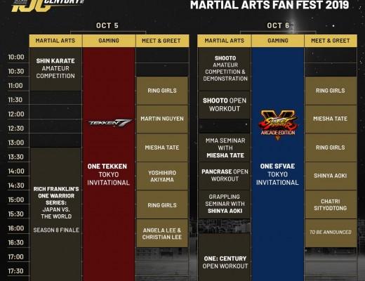 ONE Martial Arts Fan Fest
