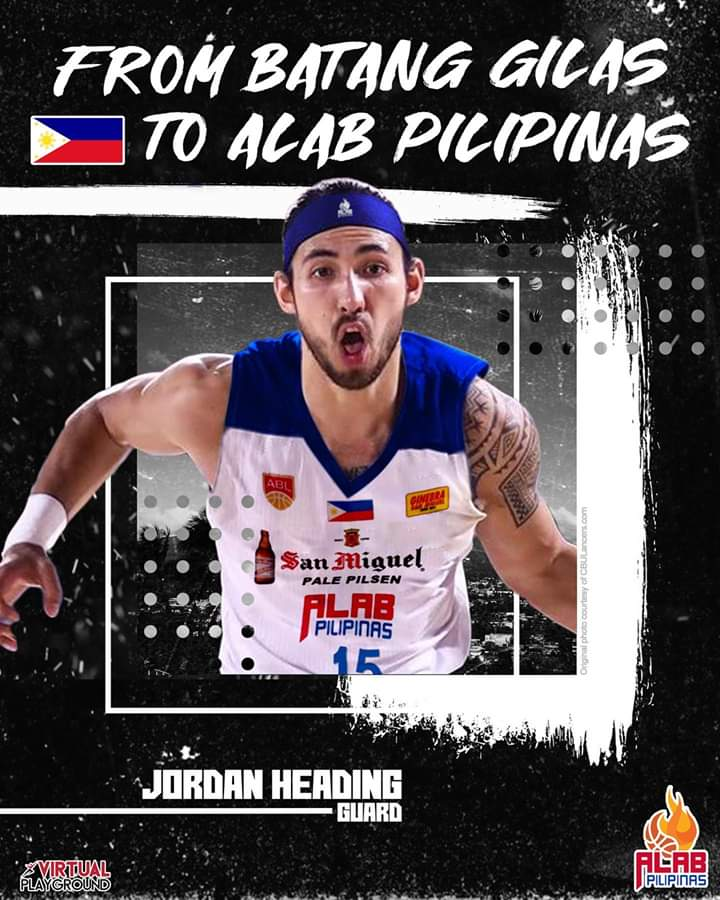 Alab Pilipinas: Former youth player Jordan Heading joins PH ABL squad