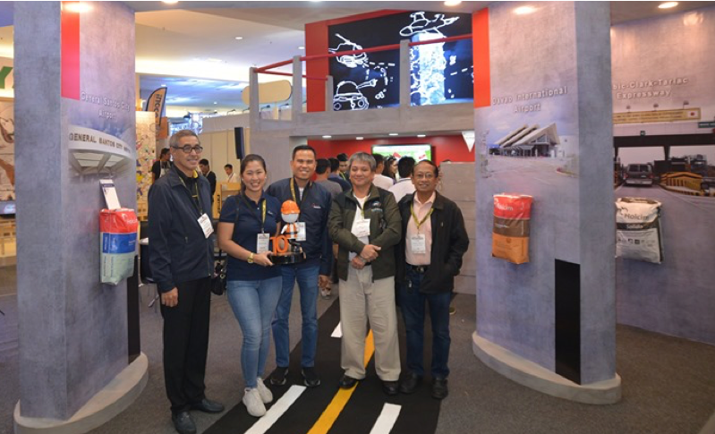 Cement maker Holcim Philippines, Inc. won best booth in the recent PhilConstruct Mindanao as it highlighted the many  important and iconic structures across the country made with its products.