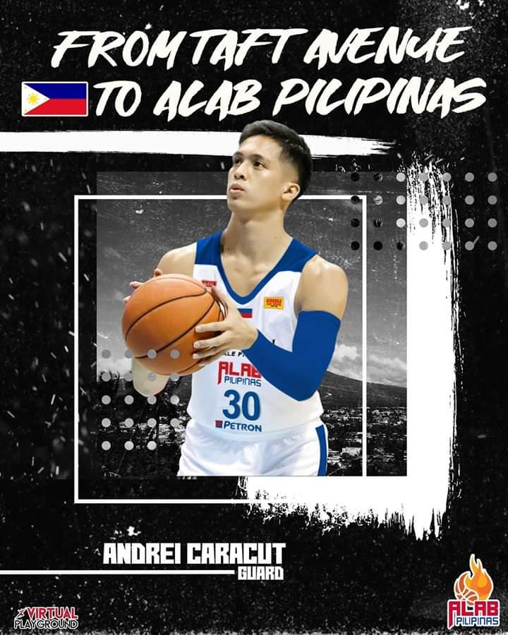 Alab Pilipinas: La Salle's Caracut latest addition for ABL