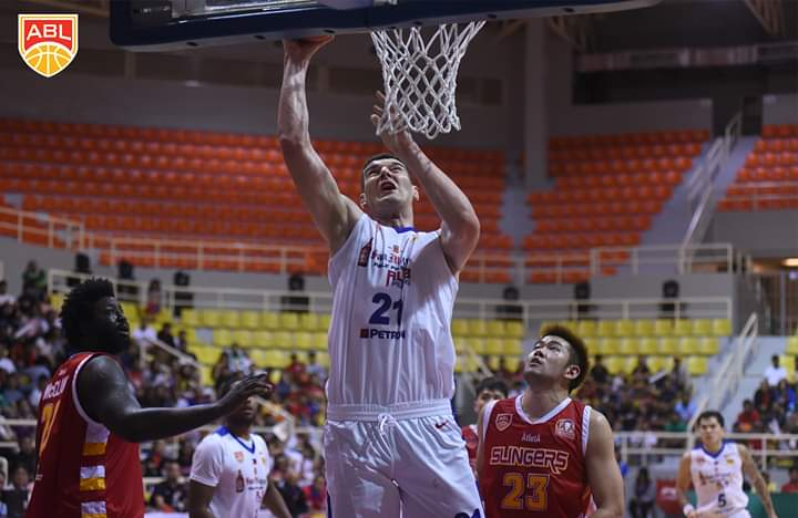 Alab Pilipinas beats Singapore Slingers in Santa Rosa for 2nd win in ABL 10