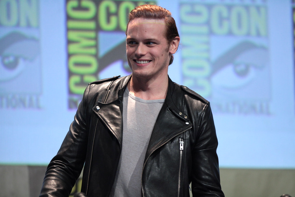 'Outlander' Star Sam Heughan Plays Paul Newman in Biopic about Roald Dahl, Patricia Neal