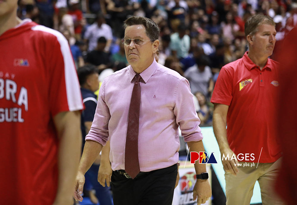 Gilas Pilipinas' Tim Cone admits getting nervous coaching in the SEA Games