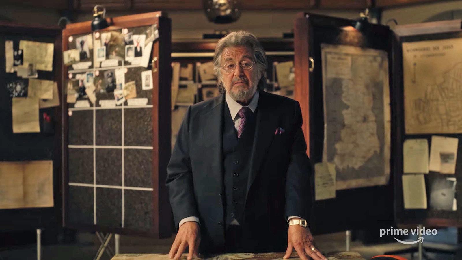 'Hunters' Series with Al Pacino Drops in February via Amazon