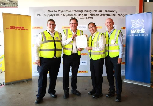 Nestle commissions DHL Supply Chain to manage Myanmar warehousing operations