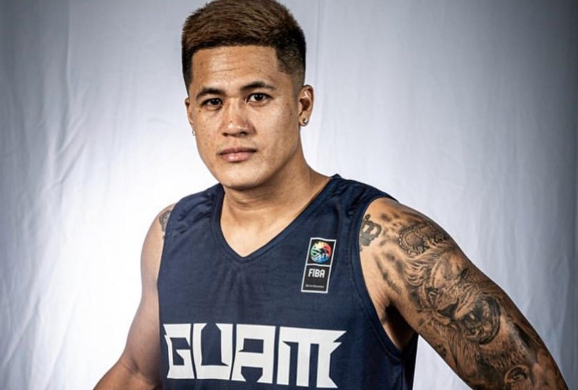 LOOK: Jericho Cruz dons Guam national basketball team jersey for FIBA Asia