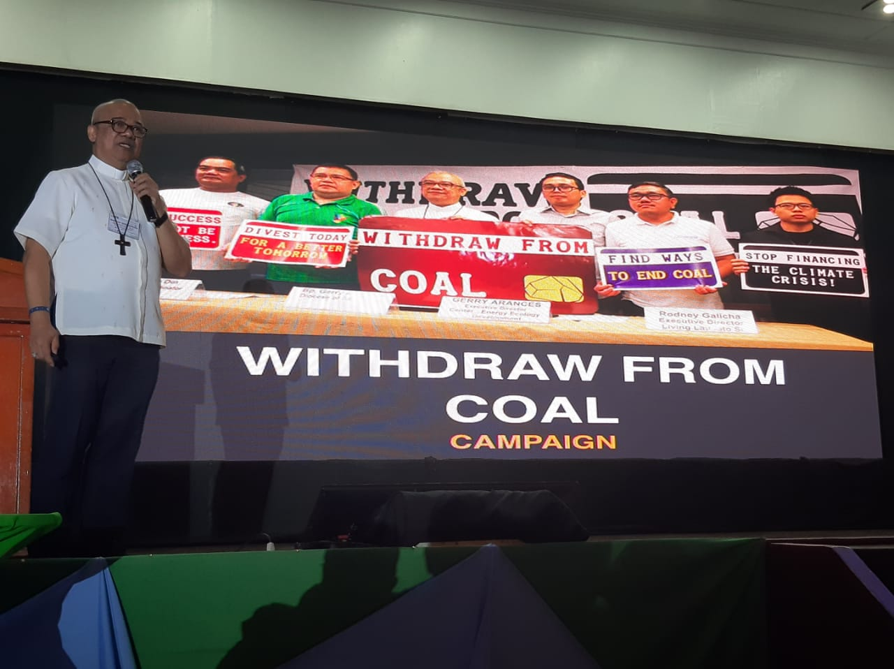 Church leader calls on banks to divest from coal